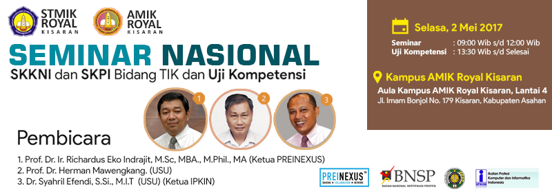 Banner WEB STMIK - Seminar Nasional