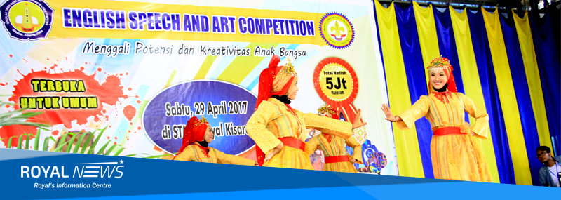 Banner WEB STMIK - English Speech and Art C