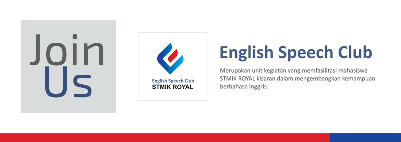 Banner WEB STMIK - English Club