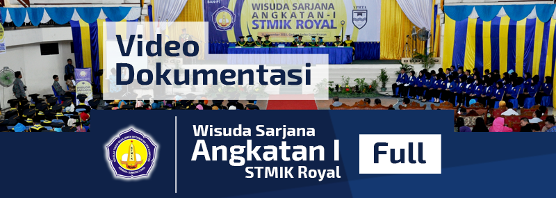 Banner WEB STMIK - Video Wisuda Sarjana I