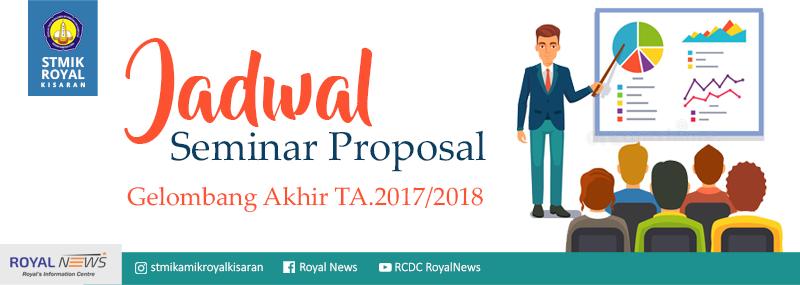Banner WEB STMIK Royal - Seminar Proposal Gelombang Akhir 2018