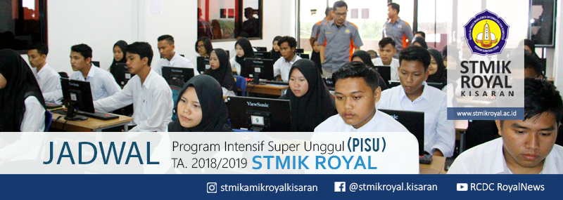 Banner WEB STMIK Royal - PISU 2018