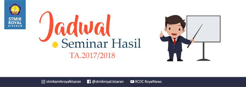 Banner WEB STMIK Royal - Semha 2018