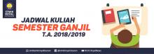 Banner WEB STMIK Royal - Jadwal Kuliah Semester Ganjil 2018-2019